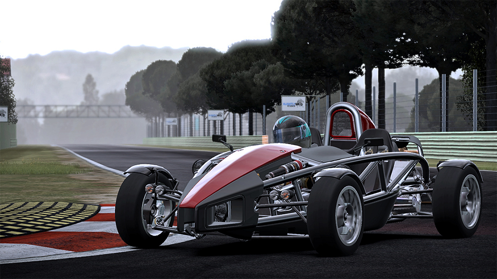 Virtuel : CARS Contrast